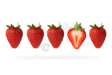 不一样的草莓图片