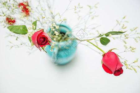 七夕浪漫玫瑰图片