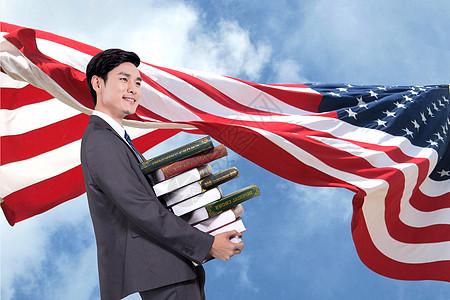 美国留学图片