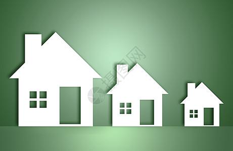 环保房子背景图片