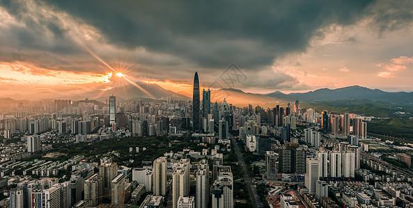 深圳城市建筑风光图片