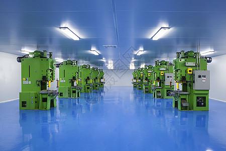 整齐划一的工业机械图片
