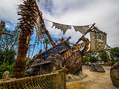 迪斯尼加勒比海盗船图片