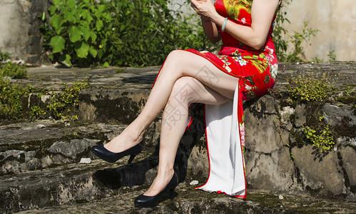 旗袍风情图片