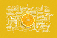 知识上的柠檬片图片