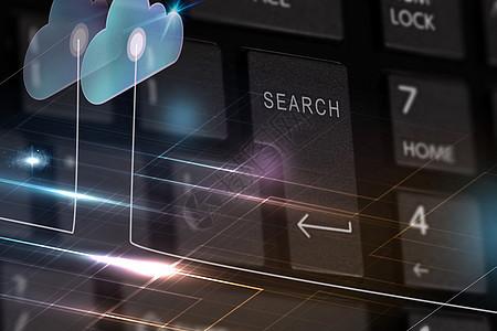 科技键盘图片