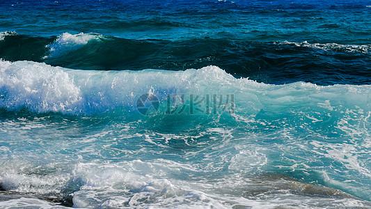海水海浪高清图片
