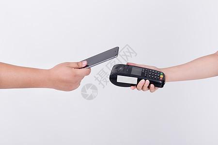 手机消费移动支付POS机图片