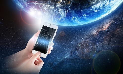 移动生活手机世界图片