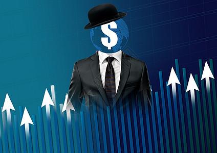 商务金融创意图图片