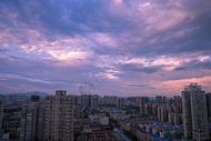 城市与天空图片