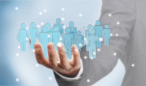 商业信息网络化图片