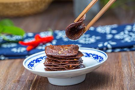 农家香辣豆腐干图片