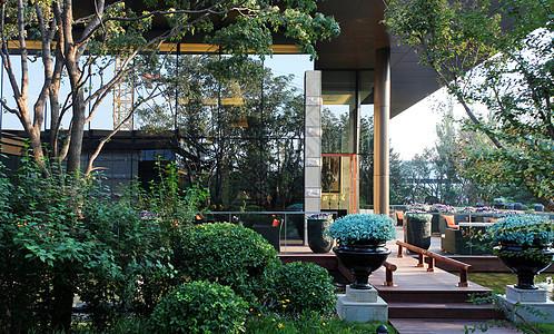小区建筑环境外观图片
