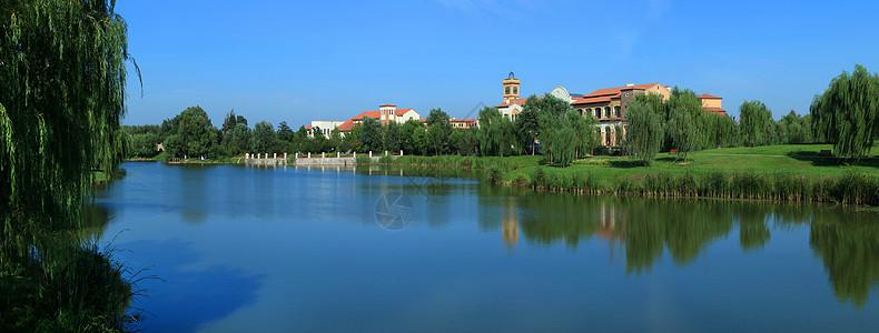 建筑立面景观图片