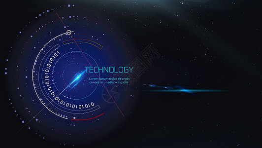 科技感背景图片