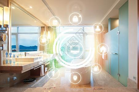 智能浴室生活图片