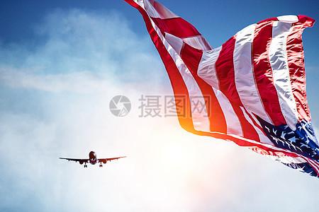 飞赴美国留学图片