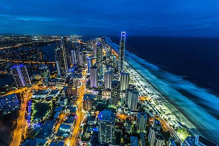 澳大利亚皇家海岸梦幻夜景图片