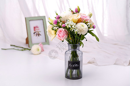 鲜花场景图图片