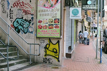 潮流的街头壁画艺术图片