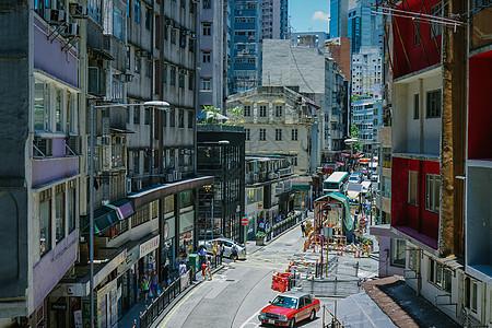 香港街道图片