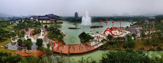 桂林园博园风光图片