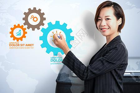 商务科技创造价值图片