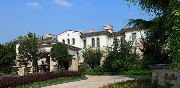 别墅外景图片