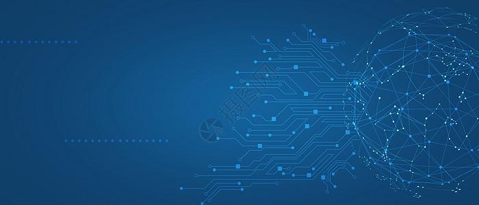 大气科技互联网通讯背景图片
