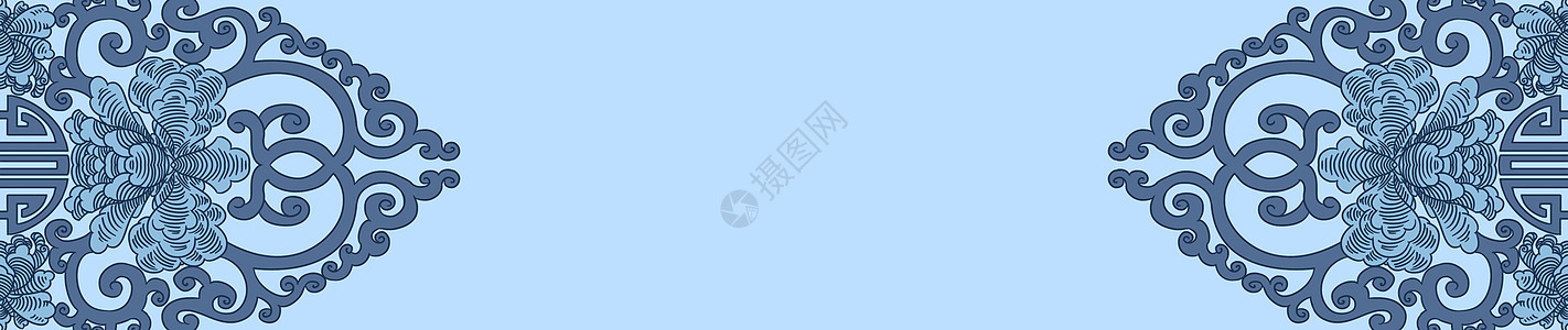 青花瓷背景图片