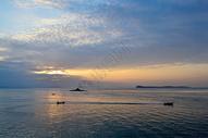 南澳海边夕阳图片