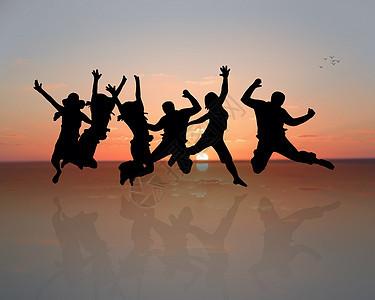 舞者团队组合图片