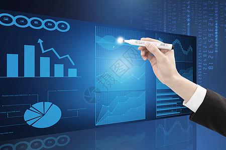 股票数据图图片