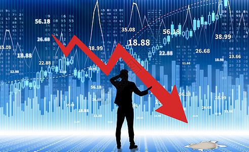 股票市场的崩溃图片