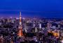 日本东京梦幻夜景图片