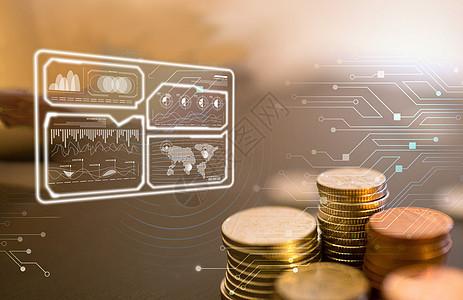 业绩资产金融概念图片