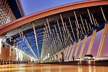 上海浦东机场图片