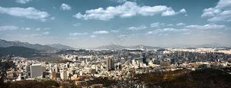 韩国首尔城市建筑风光图片