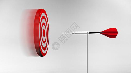 飞翔飞镖的靶子图片