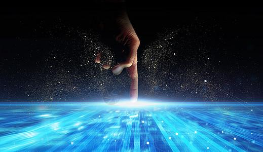 科技之手图片