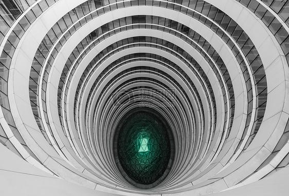 创意建筑线条商业写字楼图片