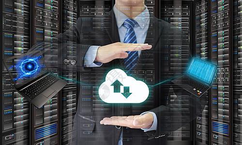 云服务下载联系图片