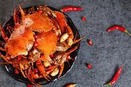 香辣蟹图片图片
