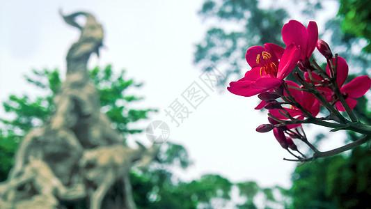 广州五羊石像图片