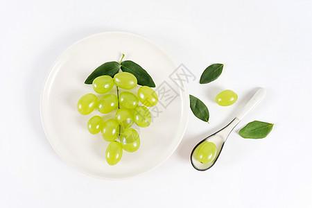 葡萄创意背景图片