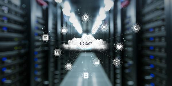 机房云端数据图片
