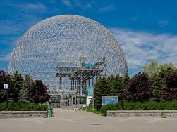 加拿大蒙特利尔的球形生态博物馆图片