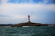 福建海边的灯塔图片