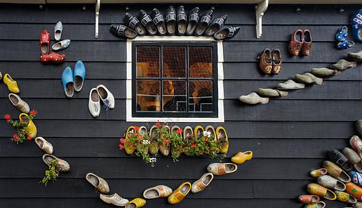荷兰的木鞋图片